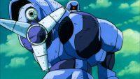 Ce robot de combat utilise son Blaster