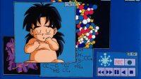 Bio-Broly bébé sur l'écran du Dr. Korī