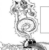 Porunga, invoqué par Mūri pour Kaiō