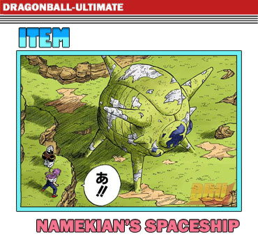 namekians-spaceship-manga-version