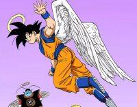 Son Gokū, avec des ailes d'ange