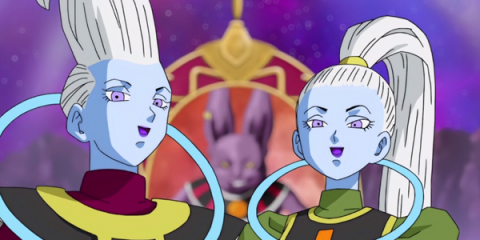 Whis et Vados, dans Dragon Ball Super