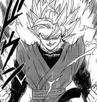 Black se transforme en Super Saiyan