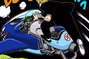 L'arbitre monte sur son avion-moto