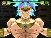 La couronne de Broly dans Budokai Tenkaichi 3 (Sparking! Meteor)