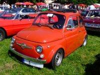 Une véritable Fiat Abarth 695