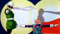 Great Saiyaman et Great Saiyaman N°2 interviennent