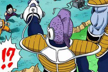 Sūi s'apprête à détruire le vaisseau Namek