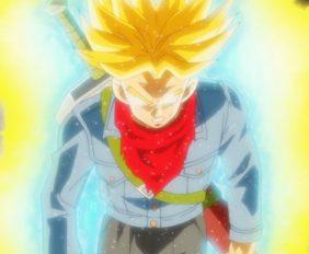 Trunks, transformé en furieux Super Saiyan