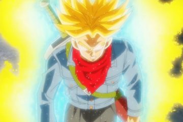 Trunks, transformé en furieux Super Saiyan