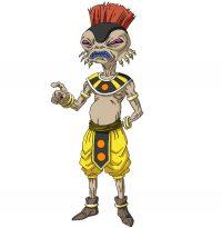 Character Design d'Arak pour l'anime