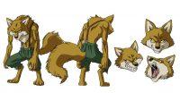 Character Design de Lavenda pour l'anime