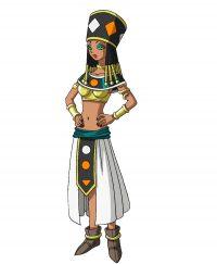 Character Design final de Helles pour la série
