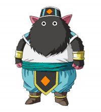 Character Design d'Iwan dans la série TV