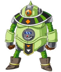 Character Design de Mosco pour l'anime
