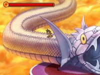 Le chemin du serpent dans Dragon Ball Z : Attack of the Saiyans