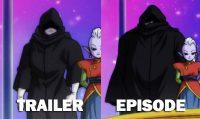 Le mystérieux guerrier dans le trailer et dans les épisodes