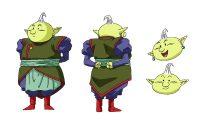 Character Design d'Ag, dans la série TV