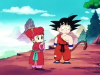 Chuu Lee aide Gokū à trouver son chemin