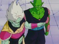 Gasshu tente de retenir Piccolo