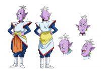 Character Design d'Il pour l'anime