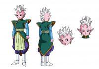 Character Design d'Anat, dans l'anime