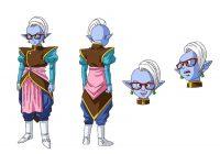 Character Design d'Ea, dans l'anime
