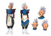 Character design de Kur dans l'anime