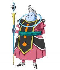 Character design d'Awamo dans la série TV