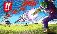Piccolo utilise le Makankōsappō pour la première fois contre Raditz