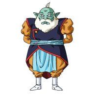 Character Design de Pell dans l'anime