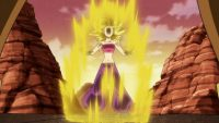 Caulifla se transforme en Super Saiyan