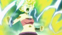 Le pouvoir de Super Saiyan 2 de Caulifla