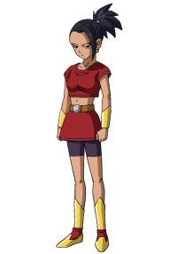 Character Design de Kale pour la série TV