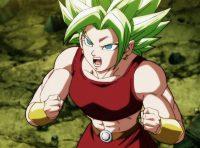 Kale, maîtrisant son pouvoir de Super Saiyan