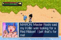 Maron dans DBZ : Legacy of Goku II