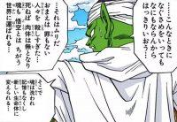 Les explications de Piccolo sur l'autre monde et la réincarnation