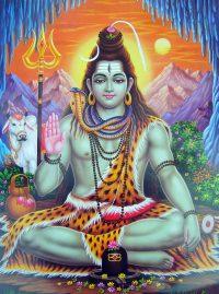 La divinité hindou, Shiva