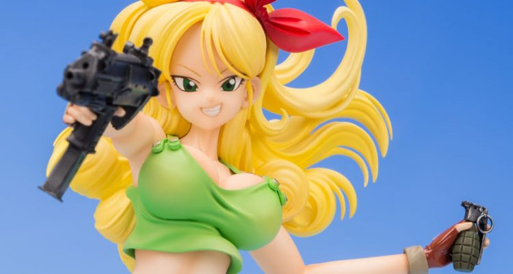 dragon ball gals lunch blond hair ver dragon ball ultimate. Black Bedroom Furniture Sets. Home Design Ideas