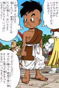 Oob (enfant) dans le manga
