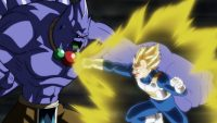 Hyssop contre Vegeta Super Saiyan