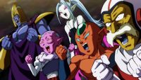 Jīmizu et les autres, en admiration pour les guerrières de l'Univers 2