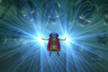 Zen'ō du futur utilisant sa capacité d'effacement