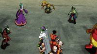 Dercori et les autres contre une partie de la Team de l'Univers 7
