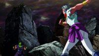 Dyrasen faisant face à Piccolo