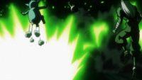 Obni et Chantsa esquivent l'attaque de Kale