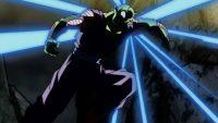 Piccolo, atteint par un tir ennemi