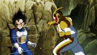 Catopesra attaque Vegeta avec son mode combat, Battle Mode enragé