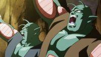 Pilina, tentant d'attaquer Gokū par surprise