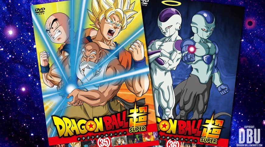 Visuels covers des dvds de location volumes 35 36 de for Chambre dragon ball z